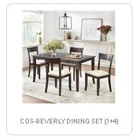 COS-BEVERLY DINING SET (1+4)
